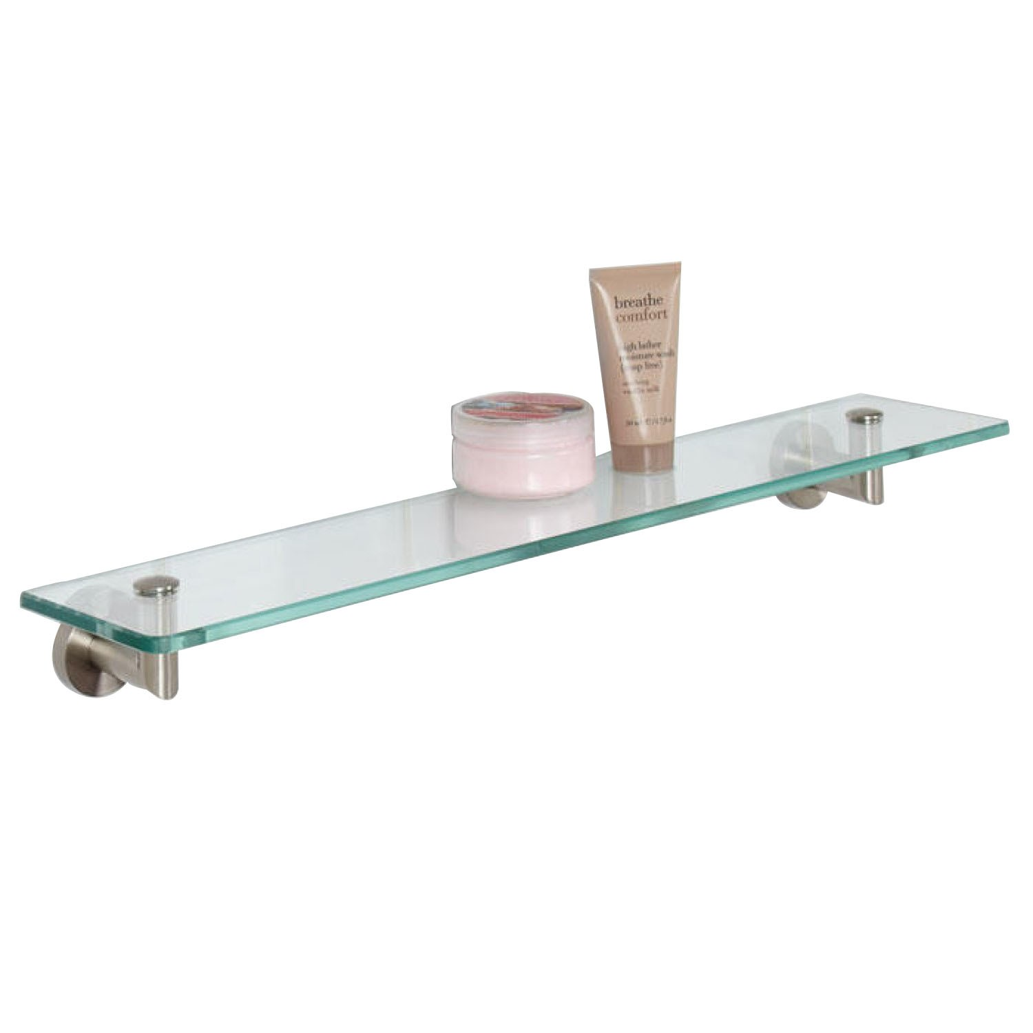 Bristow Tempered Glass Shelf In 3 Finishes